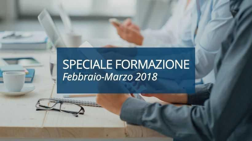 Speciale Formazione Febbraio-Marzo 2018