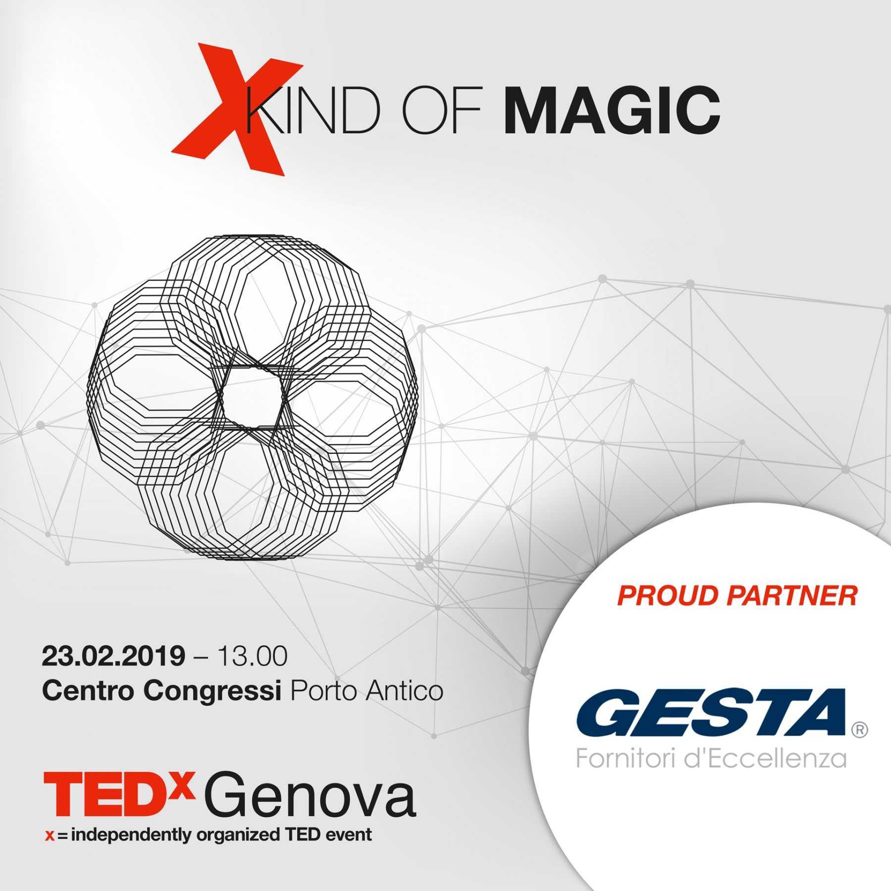 TEDXGenova – Gesta partner innovatore